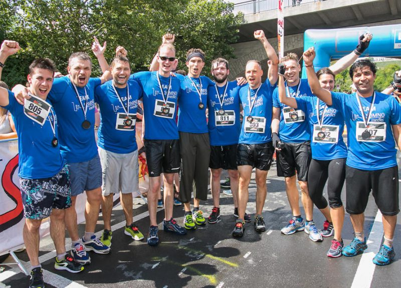 SOMNOmedics vancancies - joinThe SOMNOmedics team finishing the Würzburg fun run. Highlights why a career at SOMNOmedics is good and focuses on Team work!