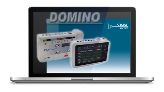 The DOMINO software is developed and prgrammed in house to work in harmony with our sleep diagnostic devices.