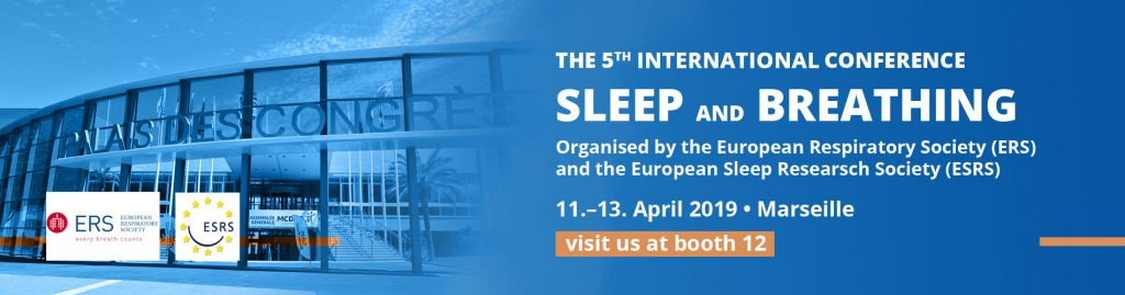 SOMNOmedics will attend the The 5th international sleep and breathing congress - visit SOMNOmedics on stand 12