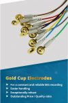 The best Grass gold cup electrode sensors - cheaper than grass, better quality than grass, Gold cup electrodes