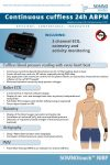 SOMNOtouch NIBP ABPM cuffless blood pressure monitor